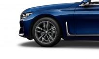 """Koła kompletne zimowe 36112414753 BMW serii 7 G11 19"""" aluminiowe obręcze Double-spoke 630, Ferric Grey"""