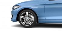 """Koła kompletne zimowe 36112471482 BMW serii 2 F22 17"""" aluminiowe obręcze Star-spoke 379 Orbit Grey"""