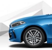 """Koła kompletne zimowe 36112471503 BMW serii 1 F40 17"""" aluminiowe obręcze M Double Spoke 550M"""