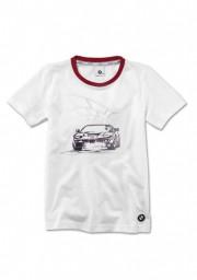 Koszulka z grafiką BMW, dziecięca (rozmiar: 140) 80142454778