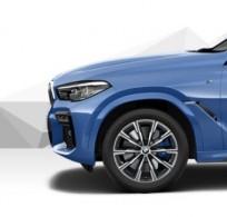 """Koła kompletne zimowe 36112470605 BMW X6 G06 20"""" aluminiowe obręcze M Star Spoke 740 Bicolor"""