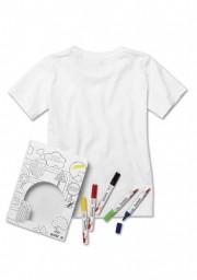 Koszulka BMW Interactive, dziecięca (do pokolorowania) (rozmiar: 128) 80142454616