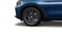 """Koła kompletne zimowe 36112462549 BMW X4 G02 19"""" M Double-spoke 698 M Orbit Grey. Cena dotyczy 1 szt."""