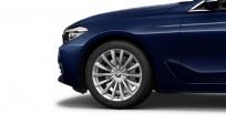 """Koła kompletne zimowe 36112464918 BMW serii 6 G32 19"""" aluminiowe obręcze V-spoke 620"""