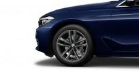 """Koła kompletne zimowe 36112414753 BMW serii 6 G32 19"""" aluminiowe obręcze Double-spoke 630, Ferric Grey"""
