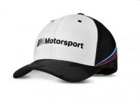 Czapka BMW M Motorsport Collectors, uniseks (one size) czarno-biała 80162461127