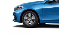 """Koła kompletne zimowe 36112471499 BMW serii 1 F40 16"""" aluminiowe obręcze Star-spoke 517, Ferric Grey"""