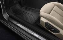 Dywaniki gumowe BMW całoroczne PRZEDNIE, Seria: 1' F20, 1' F20 LCI, 1' F21, 1' F21 LCI, 2' F22, 2' F22 LCI, 2' F23, 2' F23 LCI, 2' F87 M2, 2' F87 M2 LCI, 51472210208