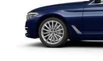 """Koła kompletne zimowe 36110049283 BMW serii 5 G30 19"""" aluminiowe obręcze Multi-spoke 633"""
