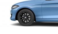"""Koła kompletne zimowe 36112464903 BMW serii 2 F22 16"""" aluminiowe obręcze V-spoke 411 czarne"""