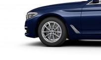 """Koła kompletne zimowe 36112456816 BMW serii 5 G30 17"""" aluminiowe obręcze V-spoke 618"""