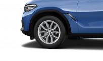 """Koła kompletne zimowe 36112462591 BMW X6 G06 19"""" aluminiowe obręcze V-spoke 734"""
