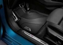 Dywaniki gumowe BMW całoroczne PRZEDNIE, Seria: 1' F40, 2' F44 Gran Coupé, 51472469121