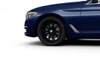 """Koła kompletne zimowe 36112462551 BMW serii 5 G30 19"""" aluminiowe obręcze Double-spoke 786M, czarny mat"""