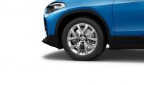 """Koła kompletne zimowe 36112409012 BMW X2 F39 17"""" aluminiowe obręcze Y-spoke 574"""
