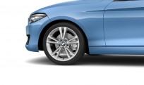 """Koła kompletne zimowe 36112289737 BMW serii 2 F22 18"""" aluminiowe obręcze Double-spoke 385"""