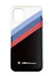 Etui na telefon komórkowy iPhone 11 BMW M Motorsport (Black/White), 80295A0A710