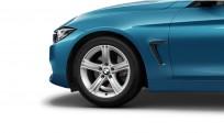 """Koła kompletne zimowe 36112287885 BMW serii 4 F32 17"""" aluminiowe obręcze Star-spoke 393"""