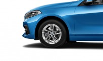 """Koła kompletne zimowe 36112471496 BMW serii 1 F40 16"""" aluminiowe obręcze Double-Spoke 474"""