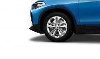 """Koła kompletne zimowe 36110003042 BMW X2 F39 17"""" aluminiowe obręcze Double-spoke 564"""