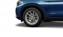 """Koła kompletne zimowe 36110003053 BMW X3 G01 18"""" V-spoke 618"""
