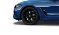 """Koła kompletne zimowe 36112462559 BMW serii 8 G15 19"""" aluminiowe obręcze Double-spoke 786M, czarny mat"""