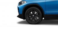 """Koła kompletne zimowe 36110003044 BMW X2 F39 18"""" aluminiowe obręcze Y-spoke 566 czarne"""