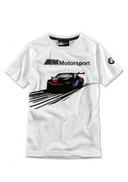 Koszulka BMW M Motorsport, dziecięca (rozmiar: 116) 80142461122