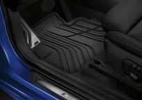 Dywaniki gumowe BMW całoroczne PRZEDNIE, Seria: 2' F45 Active Tourer, 2' F45 Active Tourer LCI, 51472287852
