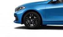 """Koła kompletne zimowe 36112471495 BMW serii 1 F40 16"""" aluminiowe obręcze Double-spoke 473 Jet Black"""