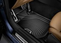 Dywaniki gumowe BMW całoroczne PRZEDNIE, Seria: 3' G20, 3' G21, 3' G28, 4' G22, 51472461168