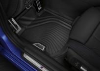 Dywaniki gumowe BMW całoroczne PRZEDNIE, Seria: 3' G20, 3' G21, 4' G22, 51472473238