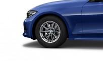 """Koła kompletne zimowe 36112471499 BMW serii 3 G20 16"""" aluminiowe obręcze V-spoke 774"""