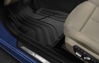 Dywaniki gumowe BMW całoroczne PRZEDNIE, Seria: 3' F30, 3' F30 LCI, 3' F31, 3' F31 LCI, 3' F34 GT, 3' F34 GT LCI, 3' F35, 3' F35 LCI, 3' F80 M3, 3' F80 M3 LCI, 51472219799