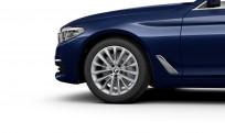 """Koła kompletne zimowe 36112471514 BMW serii 5 G30 18"""" aluminiowe obręcze W-spoke 632"""