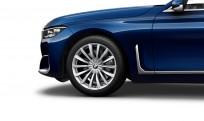 """Koła kompletne zimowe 36112464918 BMW serii 7 G11 19"""" aluminiowe obręcze V-spoke 620"""