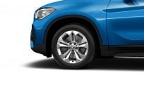 """Koła kompletne zimowe 36110003042 BMW X1 F48 17"""" aluminiowe obręcze Double-spoke 564"""
